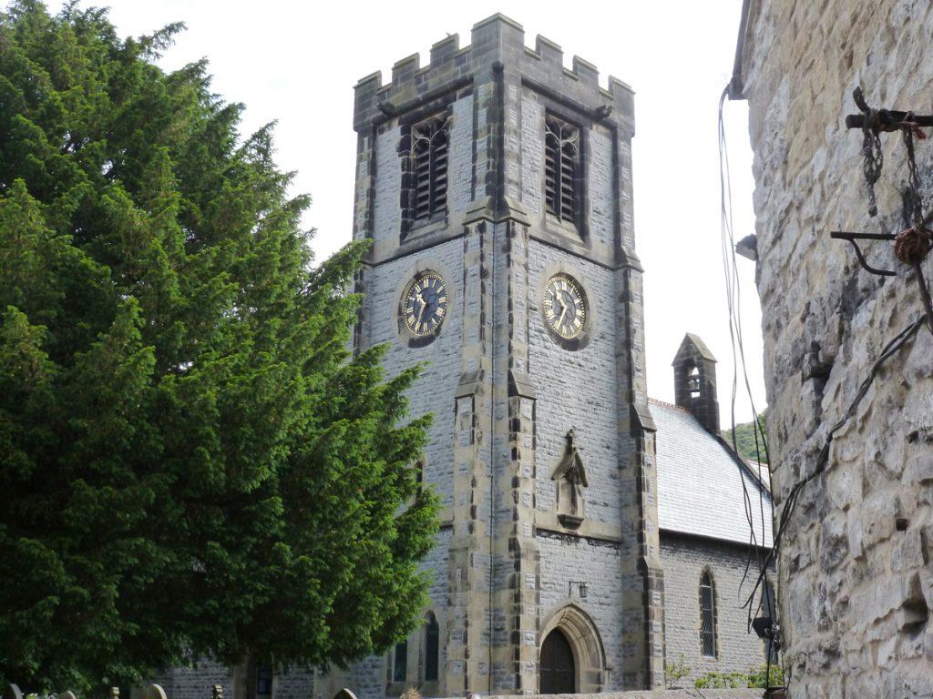 St Barnabas Church in Bradwell, Derbyshire